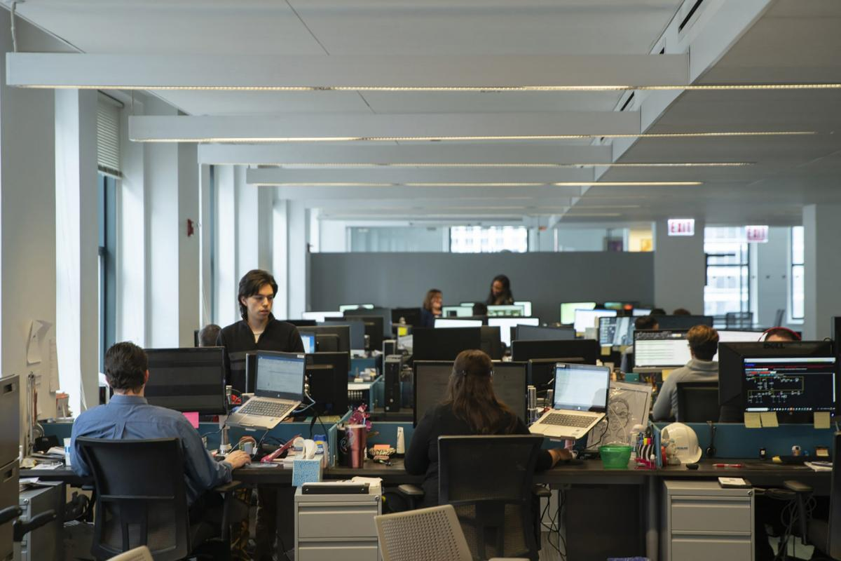 KDM boasts an open office concept that encourages collaboration and flexibility.